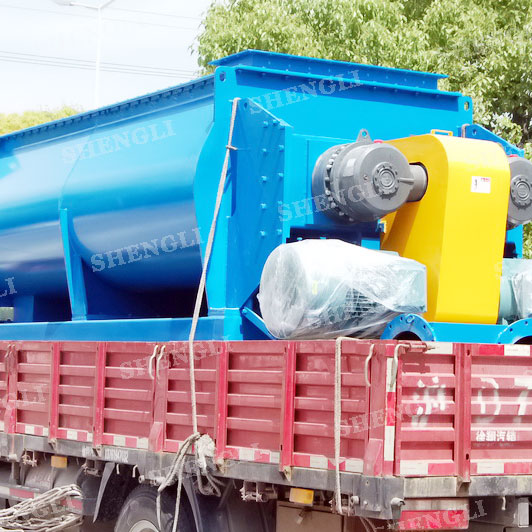 CMD-12000 double shaft continuous mixer