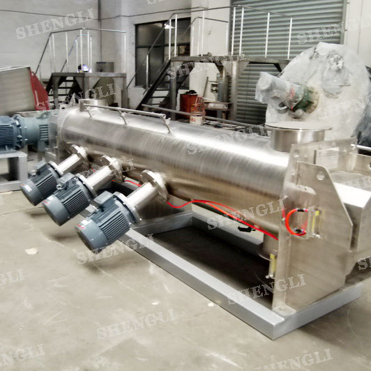CMS-500single shaft continuous mixer