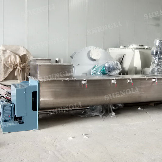 CMD-2000 double shaft continuous mixer