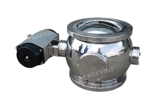 Powder Spherical Valve